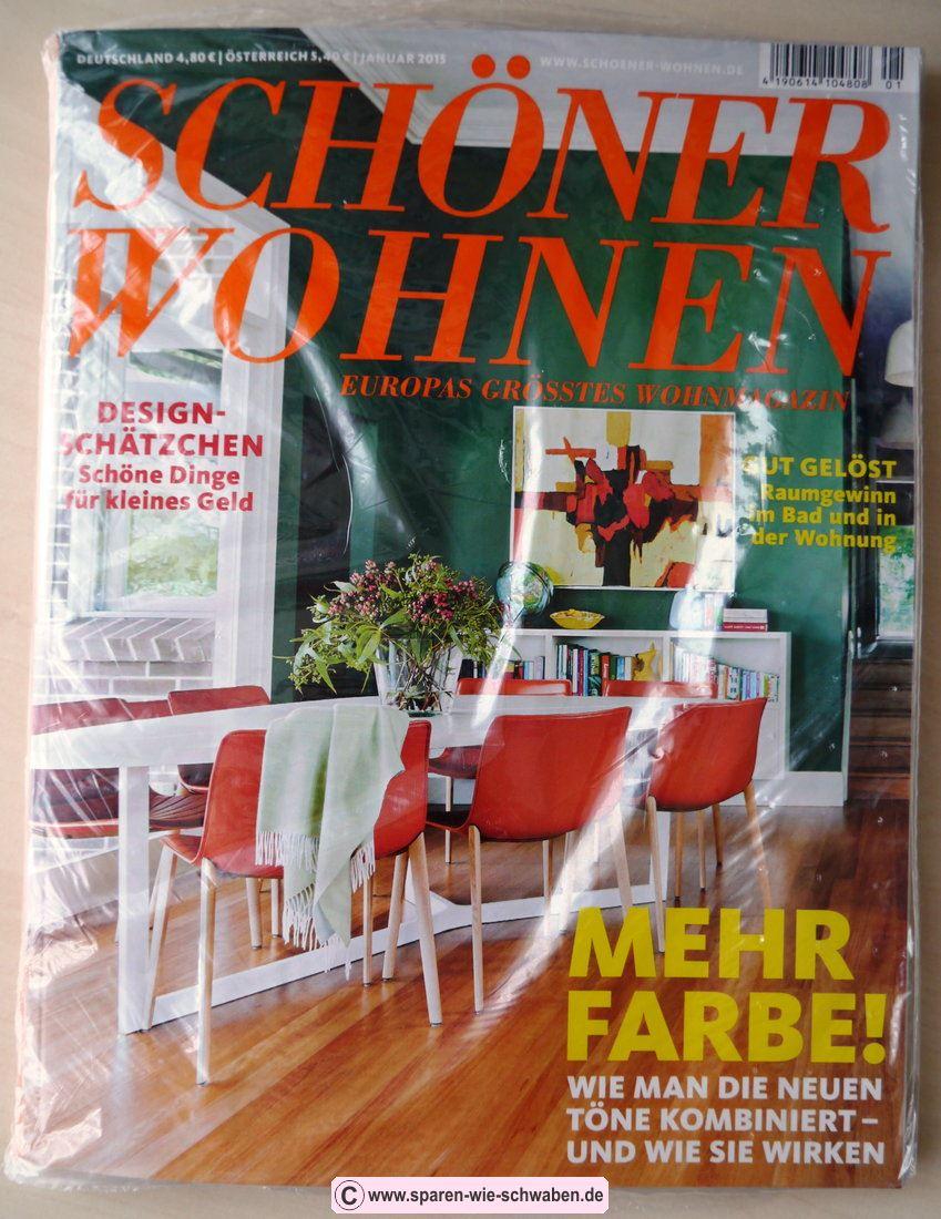 ▷ Abo & Prämie ▷ Testbericht Zeitschrift & Abo Schöner Wohnen