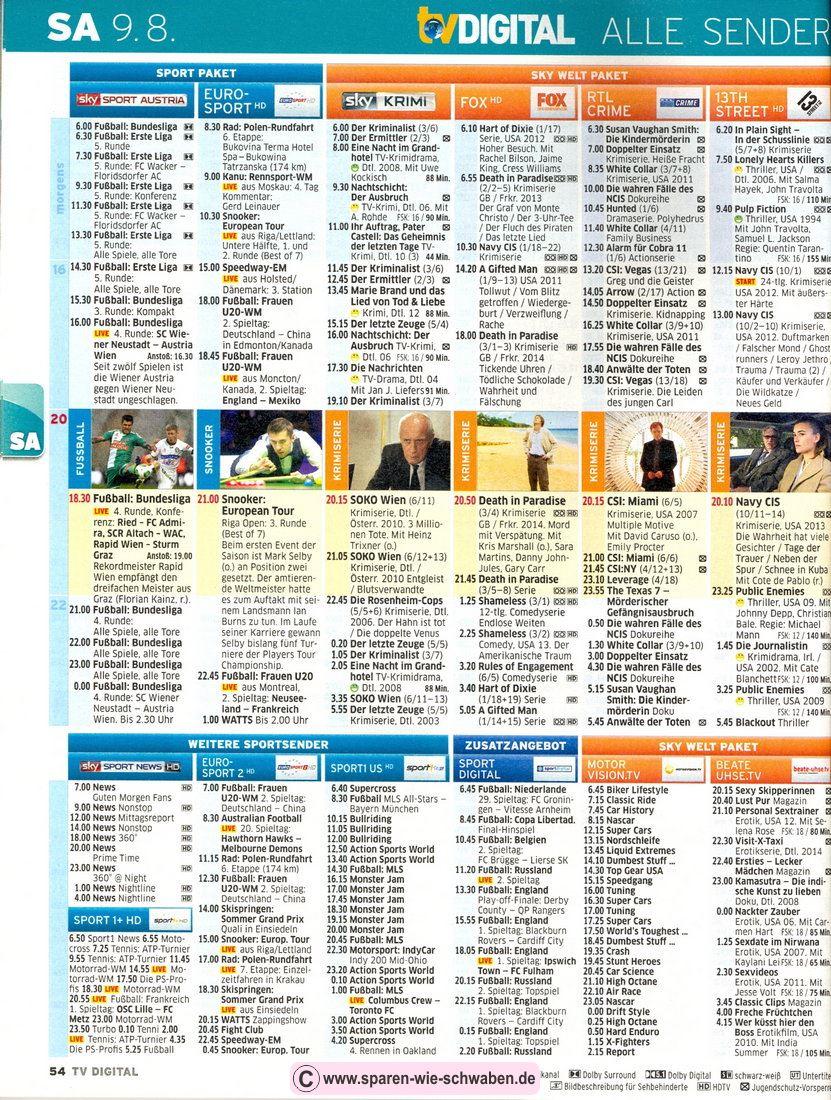 Fernsehzeitung Abo