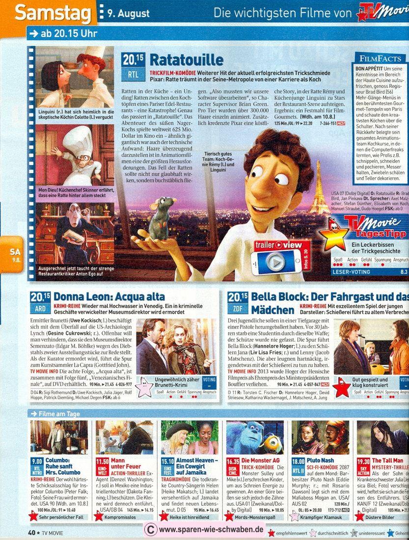 ▷ Abo & Prämie ▷ Testbericht Zeitschrift & Abo TV Movie Digital XXL