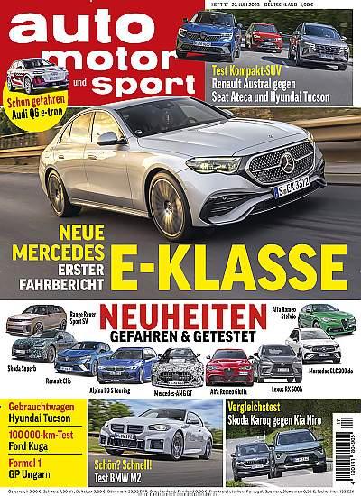 ▷ Auto Motor und Sport Abo Vgl. ▷ bis 85€ Prämie + 5€ Rabatt