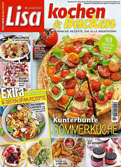 Lecker Zeitschrift Abo kochen und backen abo bis 11 prämie abo vergleich
