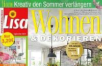 ▷ Lisa Wohnen und Dekorieren Abo ▷ bis 16€ Prämie + 5€ Rabatt